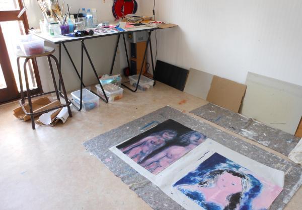 détail d'atelier, septembre 2011.