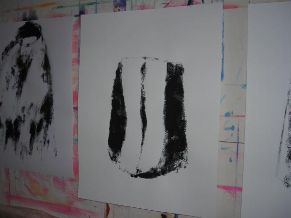 """Détail d'atelier,""""les Murmurées"""""""