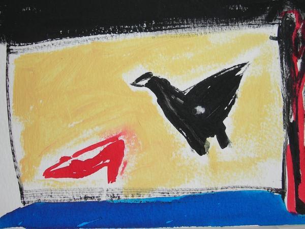 """Corbeau et chaussure"""