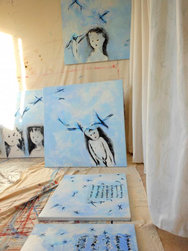 """""""Enfants du ciel d'oiseaux/Ornithomancie inconnue"""""""